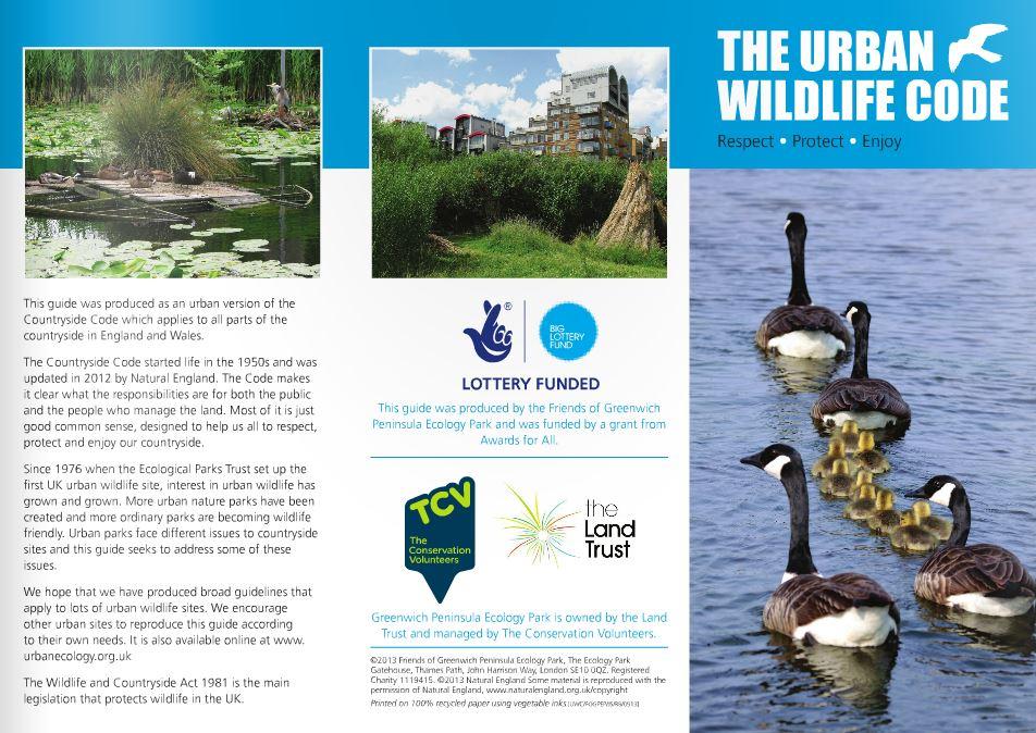 Urban Wildlife Code 1/2
